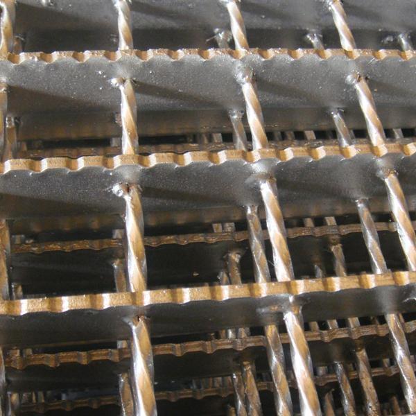 锯齿型防滑钢格板 2