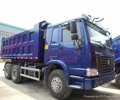 CHINA HOWO TRUCKS 10 WHEELS 380HP 40T 6X4 TIPPERS DUMP TRUCKS