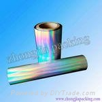 PET Holographic Film for Printing and laminating 3