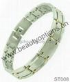Fashion stainless steel magnet bracelet  2