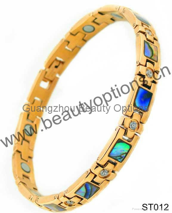 fashion design charming stainless steel bracelet 1