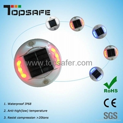 solar road button garden light