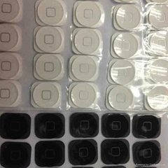 home button with rubber gasket for iphone5