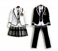 Girl and Boy School Uniform Dress and