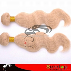 "613# 14"" Body Wave100% brazilian hair extension"