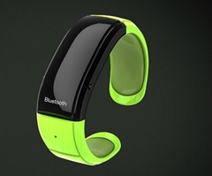 Latest Bluetooth bracelet watch Mic and speaker vibration caller