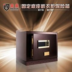 美盾固定型嵌衣柜保险箱