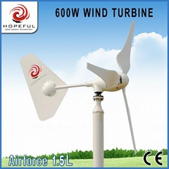 Green and sustainable energy for 600w wind turbine