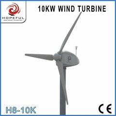 Alternative green energy for 10kw wind turbine