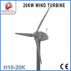 Alternative green energy for 20kw wind turbine