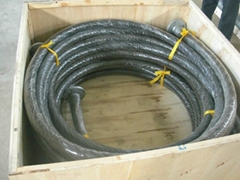 Wear Resistant Ceramic Lined Rubber Hose