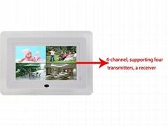 7''LCD Digital Wireless Baby Monitor