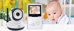 2.4''LCD Digital Wireless Baby Monitor