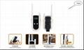 Crank dynamo walkie-talkie with radio