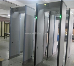 WD-6 zones walk through metal detector gate