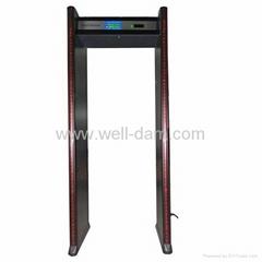 WD-8 zones walk through metal detector gate
