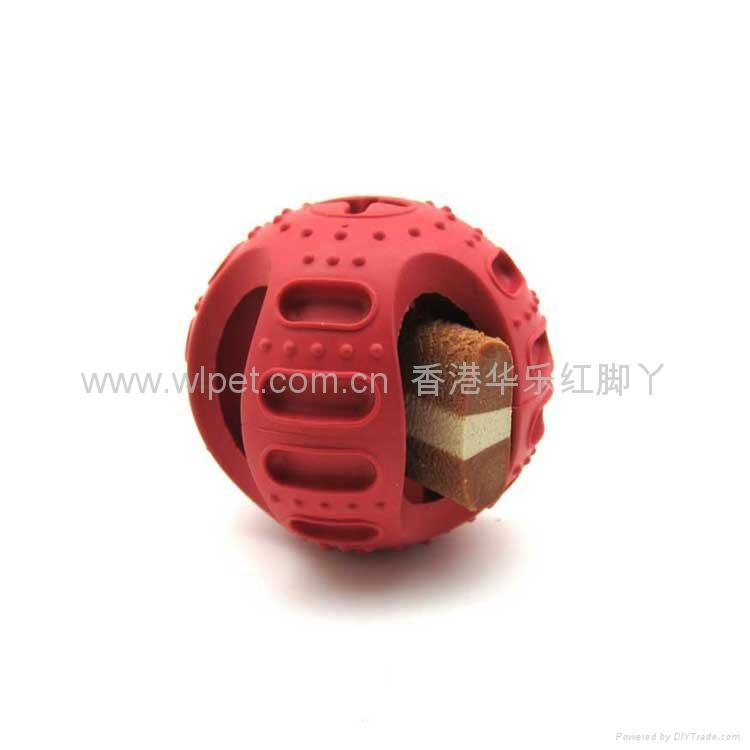 橡胶零食曲片球 2