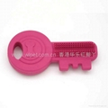 橡胶磨牙钥匙