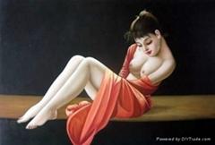 Nude Oil Paintings on Canvas