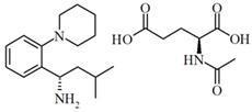 瑞格胺谷氨酸鹽