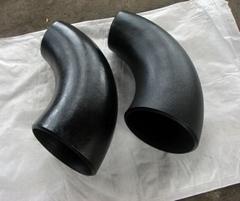 A234 WP5 alloy steel pipe fittings 90 deg LR elbow
