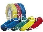 Silicone fiberglass wire