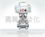 JT-10电动丝扣球阀