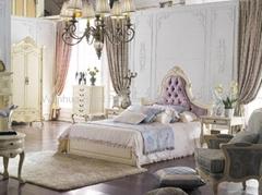 Solid wood classical bedroom