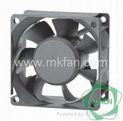 Sunon ac brushless fan 70*70*25mm small ventilator