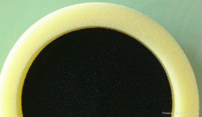 平面凹形海綿拋光盤 3