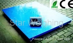Sell tons Electronic Weighing Floor Scale