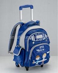 Sky Blue Large trolley bags