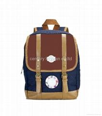 Brown Nursery Children Backpack