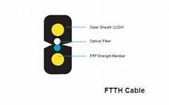 Drop Cable Optic FTTH Cable Fiber Optic Cable
