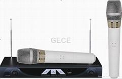 Professional VHF wireless microphone