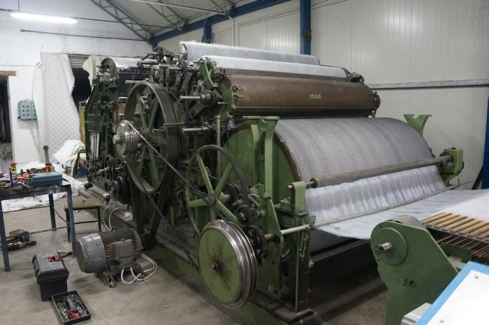 what was the textile machine of the industrial revolution