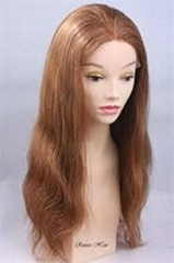 100% human virgin hair full lace wig