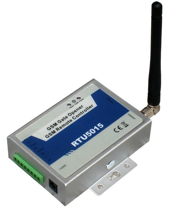 GSM Wireless Remote Gate opener 2digital In 1relay Output RTU5015 1