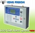 New LCD Display Menu Office GSM Alarm