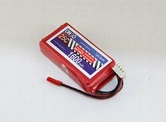 25C 2S 1600mAh heli battery