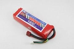 25C 3S 1900mAh heli battery