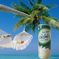 240ml coconut juice water drink in can