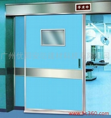 Automatic operating room door