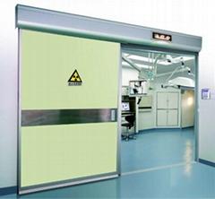 Radiation protection door