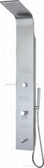 Hot!!! LED Stainless Steel Shower Panel CF-8002