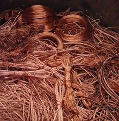 Copper Scrap 99,9 % Millberry wire