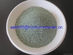 green zeolite powder