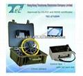 CE certificate 20-100m fiberglass cable pipeline endoscope inspection camera