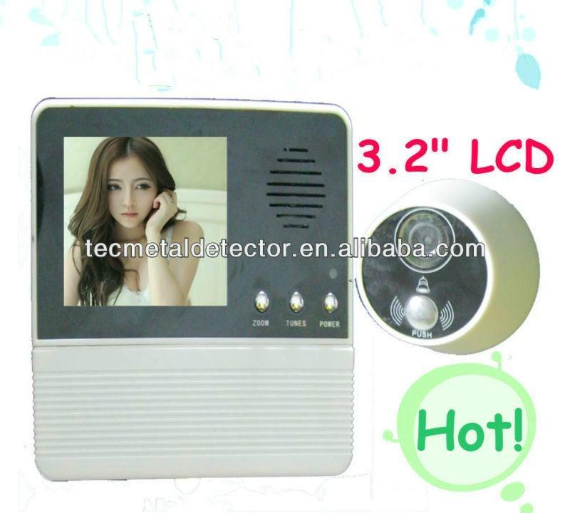 Night Vision 3.5 inch door viewer,peephole camera TEC601D-3AH  1
