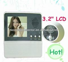 Night Vision 3.5 inch door viewer,peephole camera TEC601D-3AH